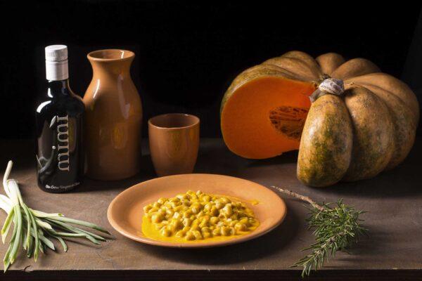 pubblicità olio marketing enogastronomico foodphotography zucca lumache